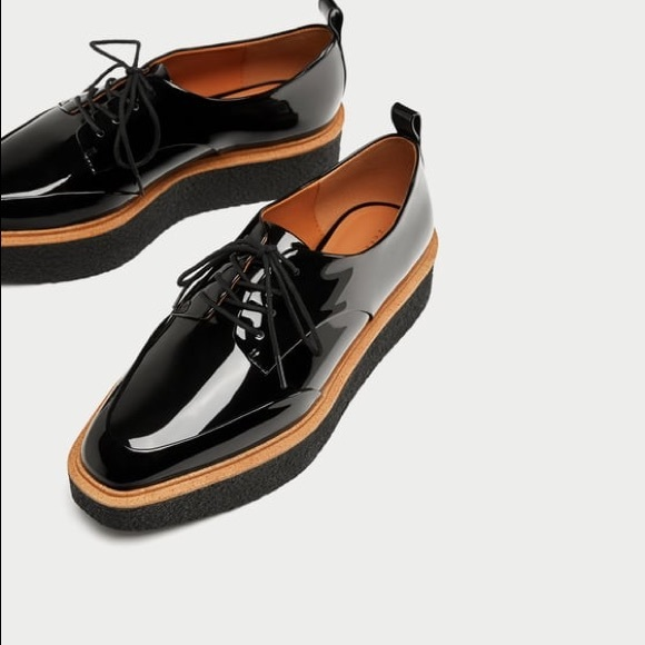 211c48a4ea22 Zara platform derby loafers platform shoes